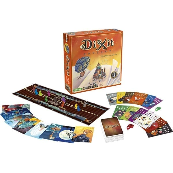 Dixit Odyssey Contents