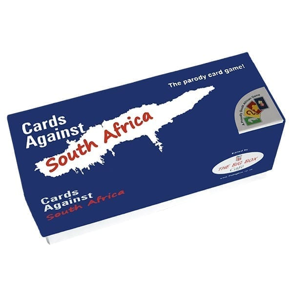 Cards Against South Africa Box