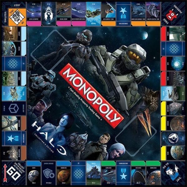 Monopoly Halo Board