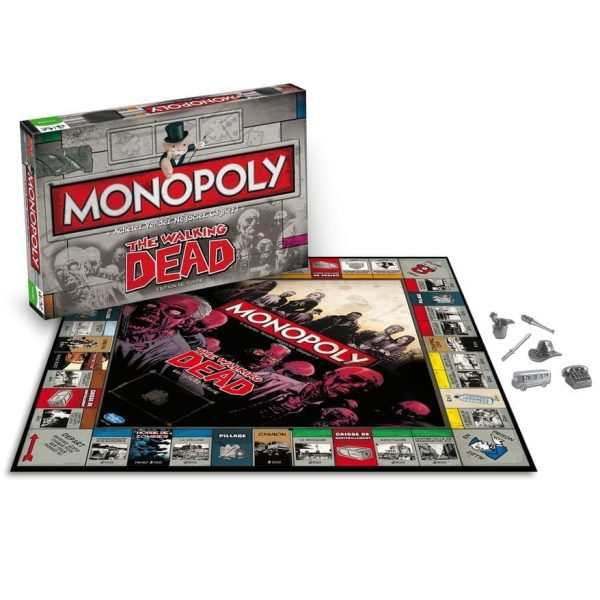 Monopoly The Walking Dead Close Up