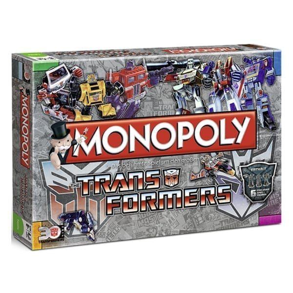 Monopoly Transformers Box