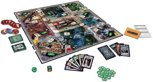 Cluedo Harry Potter Board