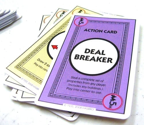 Monopoly Deal Deal Breaker Card