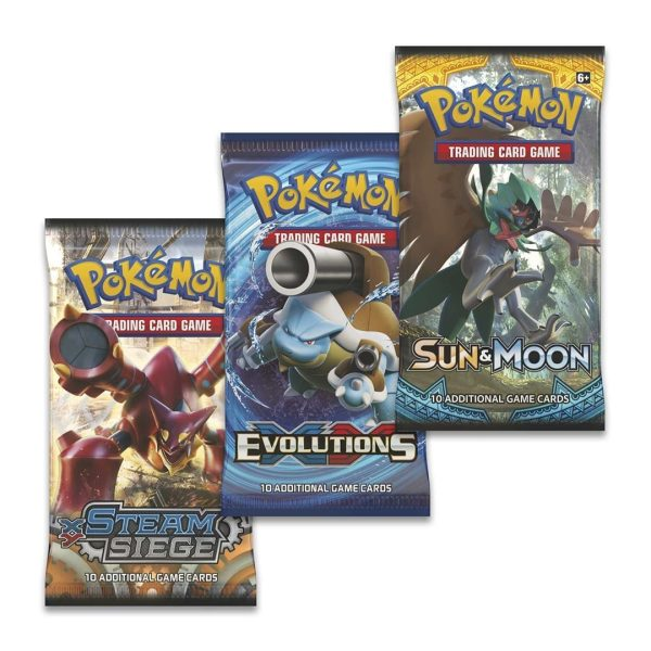 Pokemon 3 Boosters Options
