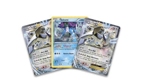 Pokemon Battle Deck Lugia Cards
