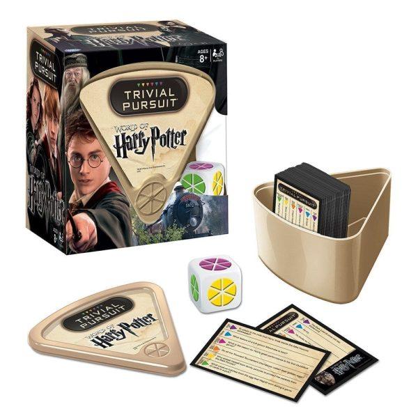 Trivial Pursuit Harry Potter Contents