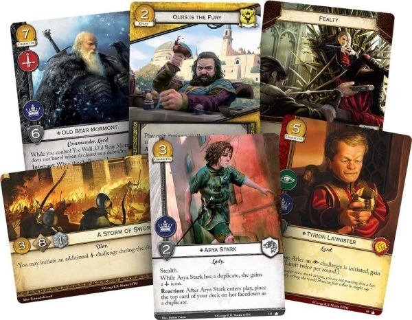 A Game of Thrones LCG Cards