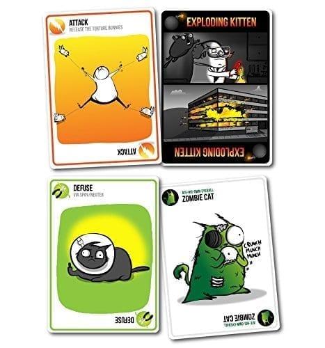Exploding Kittens NSFW Cards