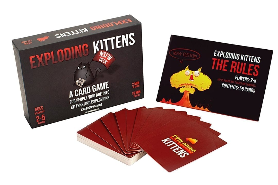Exploding Kittens NSFW Contents