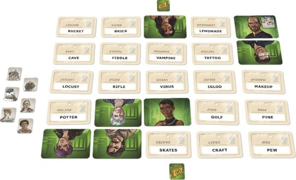 Codenames Duet Game Layout