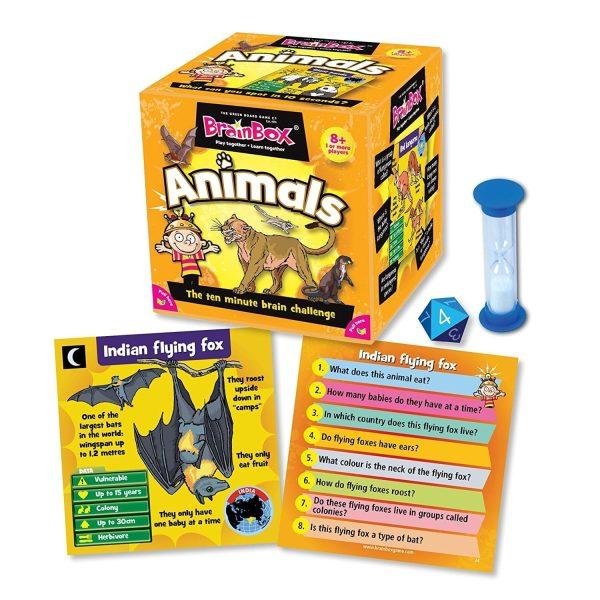 BrainBox Animals Contents