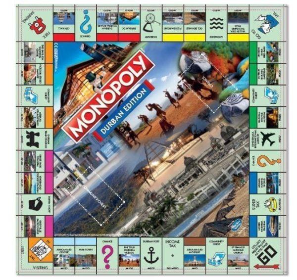 Monopoly Durban Board