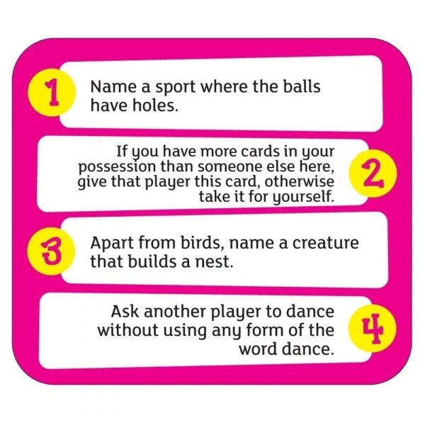Quirky Quiz Card Example