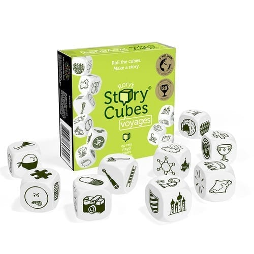Rory's Story Cubes Voyages Contents