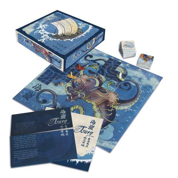 Tsuro of the Seas Components