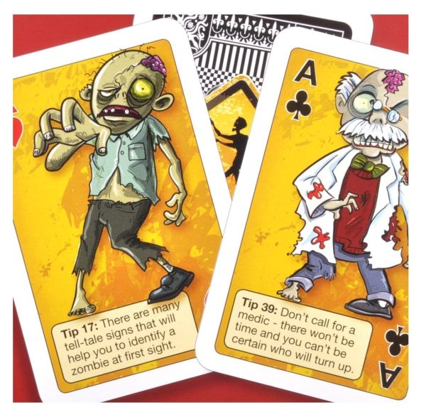 Zombie Playing Cards Detail