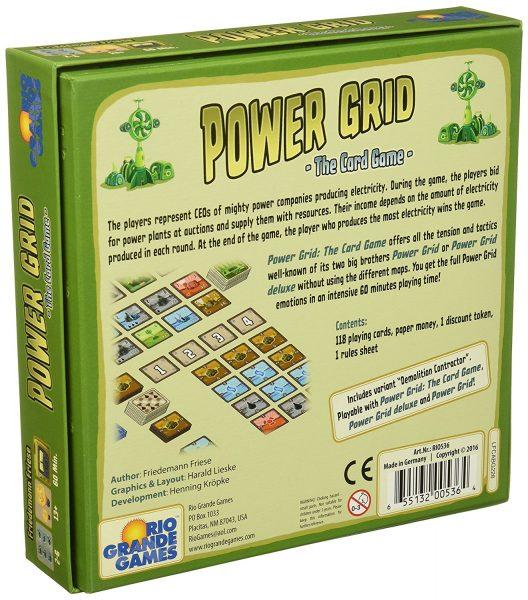 Power Grid: The Card Game Box 2