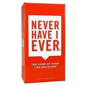 Never Have I Ever: The Card Game of Poor Life Decisions