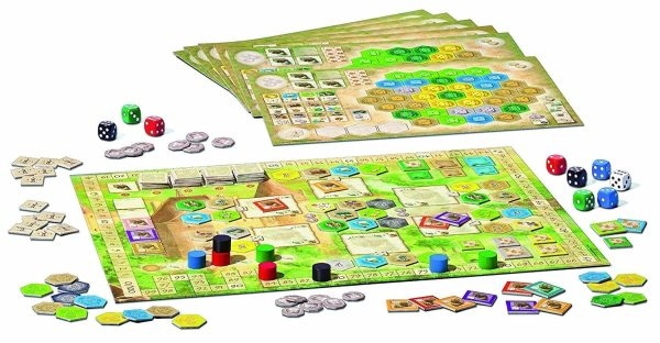 Castles of Burgundy Components