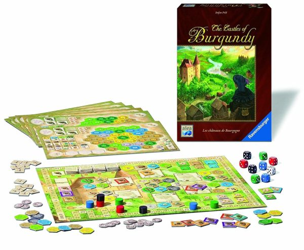 Castles of Burgundy Contents