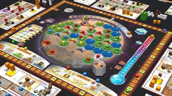 Terraforming Mars Board