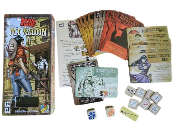 Bang! The Dice Game:Old Saloon Contents