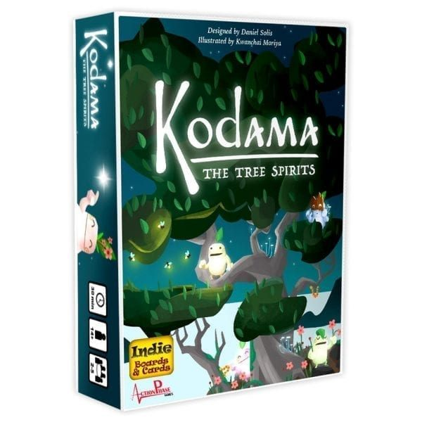In Kodama: the Tree Spirits, you will grow your tree by placing branch cards in clever arrangements, being careful to leave room for future growth. At the end of each season, one Kodama will award you points for how well your tree suits its needs. With beautiful art and innovative mechanics, Kodama is an intriguing game for the whole family.