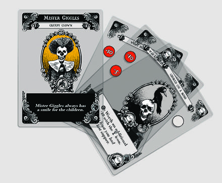 Gloom Transparent Cards