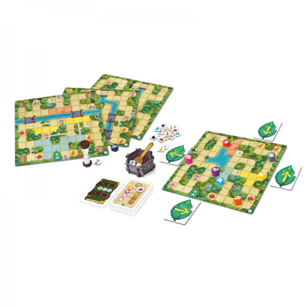 Magic Maze Kids Components