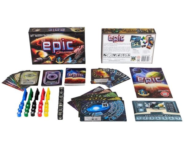 Tiny Epic Galaxies Contents