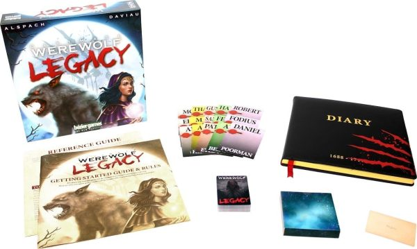 Ultimate Werewolf Legacy Contents