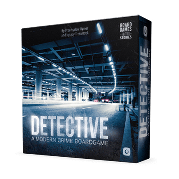 Detective A Modern Crime Boardgame