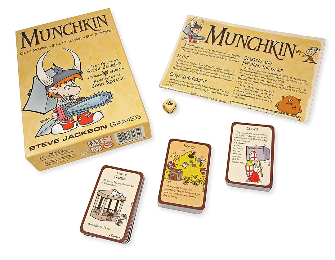 Munchkin Contents