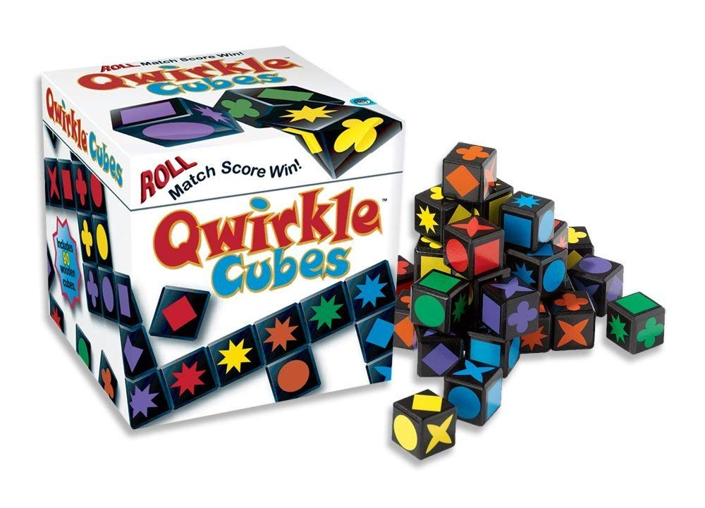 Qwirkle Cubes Box and Contents