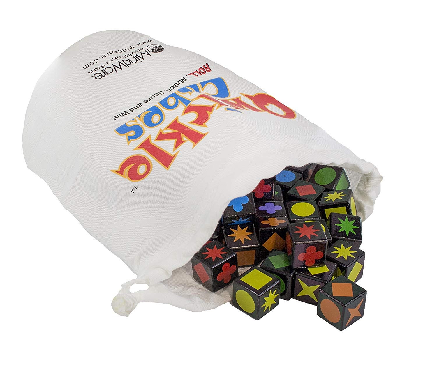 Qwirkle Cubes Contents