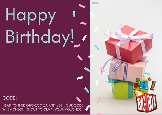Happy Birthday Voucher